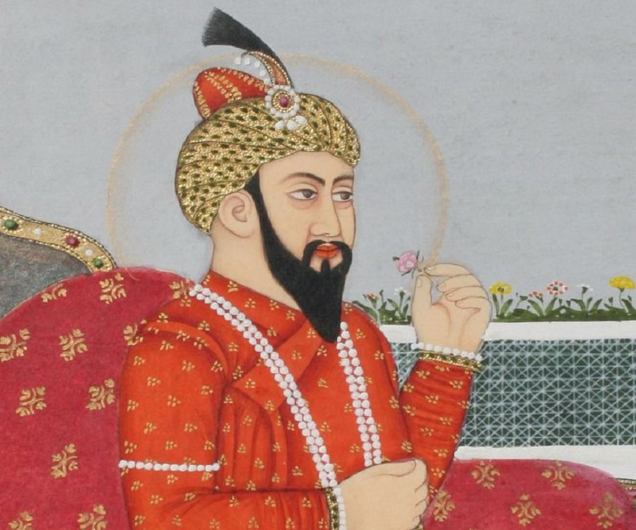 Babus The Mughal Emperor loved writing